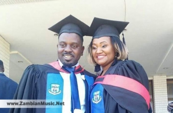 Zambian Artist Petersen Zagaze & Wife Finally Graduate