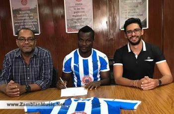 In Sports: Kabwe Warriors Have Signed Ghana's Striker